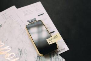 Reglas de la competición mal indicadas en un teléfono móvil